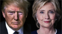 Donald Trump and Hillary Clinton, Presidential Election 2016